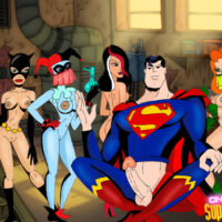 Pictures of superheroes hanging out in Gotham City xl-toons.win
