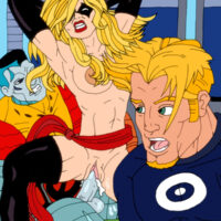 The X-Men fight evil and fuck xl-toons.win