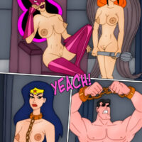 The entire Justice League turned into sex slaves! xl-toons.win
