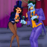 Joker gets a magical blowjob from Zatanna xl-toons.win