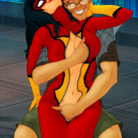 Spider Woman has kinky rooftop sex xl-toons.win