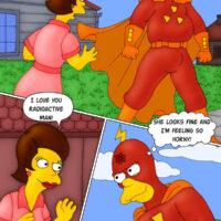 Radioactive Man satisfies the women of Springfield! xl-toons.win
