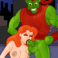 The Green Goblin fucking with sexy Poison Ivy! xl-toons.win