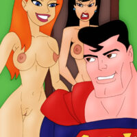 Superman has a trio with Lois and Ivy! xl-toons.win