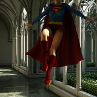 Super Girl is super sexy in 3D! xl-toons.win