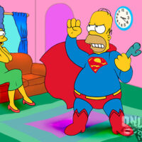 Homer dresses as Superman to turn Marge on! xl-toons.win