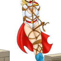 Powergirl in hot bondage gallery xl-toons.win