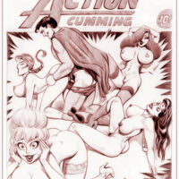 Erotic nude sketches of sexy super heroines xl-toons.win