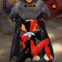 Harley Quinn pleasure the Batman's cock xl-toons.win