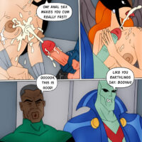 Sex orgy at the Justice League xl-toons.win