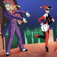 Joker fucking Harley's ass! xl-toons.win