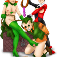 Joker gets dominated by Ivy and Harley xl-toons.win