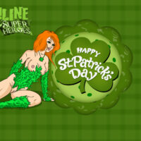 Hot Ivy on St Patrick day xl-toons.win