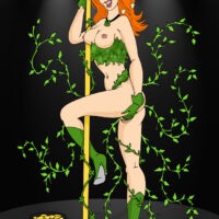 Poison Ivy celebrates St. Patricks Day in style! xl-toons.win