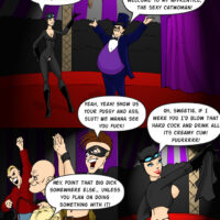 Catwoman and Penguin put on a wild circus performance xl-toons.win