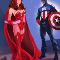 Captain America gives the Scarlet Witch a Patriot Fuck! xl-toons.win
