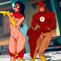 Spiderwoman gets a swift, hot fuck from Flash! xl-toons.win