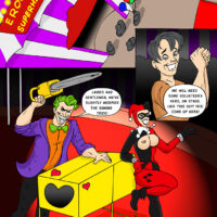 Joker and Harley pull of an amazing erotic magic trick! xl-toons.win