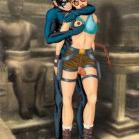 Lara Croft and Nightwing fuck like heroes in heat! xl-toons.win