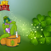 She-Hulk wallpaper will remind you St. Patricks Day! xl-toons.win