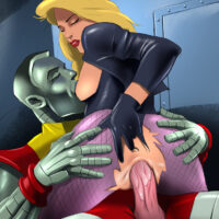 Black Canary getting hardcore anal sex from Colossus xl-toons.win