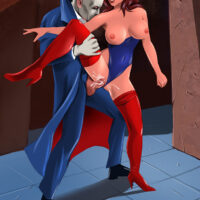 Hot babe with big tits gets hardcore anal sex from Fantomas xl-toons.win