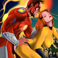 Crystal gets all her wet fuck holes banged by Captain Comet! xl-toons.win