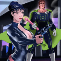Modesty Blaise getting anal sex from Mon-El xl-toons.win