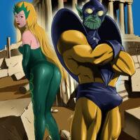 The Enchantress enjoys kinky sex with Skrull Criti Noll xl-toons.win