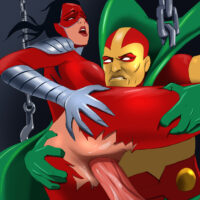 Manhunter gets hard anal sex from Mr. Miracle xl-toons.win