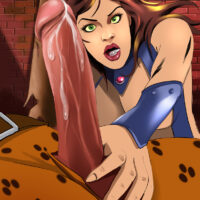 Starfire gets hardcore anal from Kraven the Hunter xl-toons.win